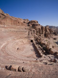 Theatre, Petra, Jordan Photographic Print by Michele Falzone