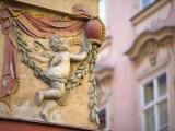 Building Detail, Old Town, Prague, Czech Republic Photographic Print by Doug Pearson