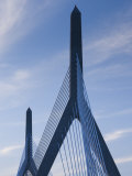 Zakim Bridge, Boston, Massachusetts, USA Photographic Print by Walter Bibikow