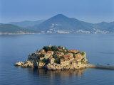 Sveti, Montenegro Photographic Print by Steve Vidler