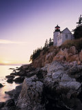 Bass Harbor Head Lighthouse, Acadia Nat. Park, Maine, USA Fotografie-Druck von Walter Bibikow