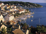Hvar, Hvar Island, Croatia Fotografie-Druck von Peter Adams