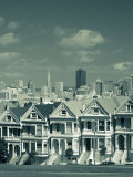 Alamo Square, San Francisco, California, USA Photographic Print by Walter Bibikow