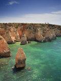 Ponta Da Piedade, Lagos, Algarve, Portugal Photographic Print by Michele Falzone