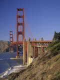 Golden Gate Bridge, San Francisco, California, USA Fotografie-Druck von Walter Bibikow