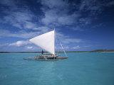 Piragoe, Ile Des Pins, New Caledonia Fotografisk trykk av Neil Farrin
