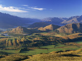 View from Coronet Peak, Queenstown, New Zealand Photographic Print by Steve Vidler