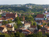 Vilniusview over the Old Town, Lithuania Photographic Print by Gavin Hellier
