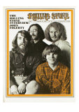 Creedence Clearwater Revival, Rolling Stone no. 52, February 21, 1970 Photographic Print by Baron Wolman