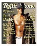 Puff Daddy, Rolling Stone no. 766, August 7, 1997 Photographic Print by Matthew Rolston
