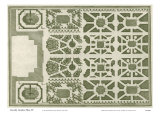 Courtly Garden Plan IV Poster von Sir Archibold Gravely