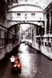 Venise, le Pont des Soupirs Posters