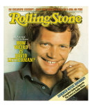 David Letterman, Rolling Stone no. 371, June 10, 1982 Photographic Print by Herb Ritts