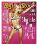 Mariah Carey, Rolling Stone no. 834, February 17, 2000 Photographic Print by David Lachapelle