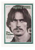 James Taylor, Rolling Stone no. 76, February 28, 1971 Photographic Print by Baron Wolman