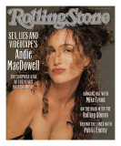 Andie MacDowell, Rolling Stone no. 563, October 19, 1989 Photographic Print by Matthew Rolston