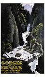 Gorges de la Diosaz Giclée-vedos tekijänä Roger Broders