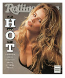 Claudia Schiffer, Rolling Stone no. 578, May 17, 1990 Photographic Print by Herb Ritts