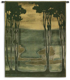Nouveau Trees Wall Tapestry by Jennifer Goldberger