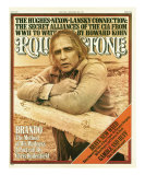 Marlon Brando, Rolling Stone no. 213, May 20, 1976 Photographic Print by Mary Ellen Mark