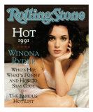 Winona Ryder, Rolling Stone no. 604, May 16, 1991 Photographic Print by Herb Ritts