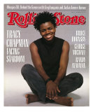 Tracy Chapman, Rolling Stone no. 535, September 22, 1988 Photographic Print by Herb Ritts