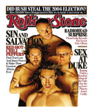 Red Hot Chili Peppers, Rolling Stone no. 1002, June 15, 2006 Photographic Print by Matthew Rolston