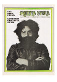 Jerry Garcia, Rolling Stone no. 40, August 23, 1969 Photographic Print by Baron Wolman