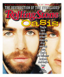 Liam & Noel Gallagher, Rolling Stone no. 733, May 2, 1996 Photographic Print by Nathaniel Goldberg