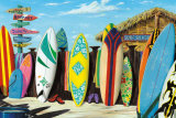 Surf Shack Poster by Scott Westmoreland