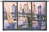 Sailing in the Afternoon II Wall Tapestry by Marti Bofarull