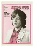 Mick Jagger, Rolling Stone no. 49, December 27, 1969 Photographic Print by Baron Wolman