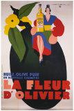 La Fleur d'Olivier Giclee Print by Jean Mercier