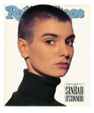 Sinead O'Connor, Rolling Stone no. 580, June 14, 1990 Photographic Print by Andrew Macpherson