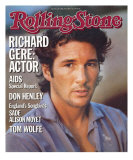 Richard Gere, Rolling Stone no. 446, April 25, 1985 Photographic Print by Herb Ritts