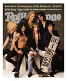 Guns 'n Roses, Rolling Stone no. 612, September 5, 1991 Photographic Print by Herb Ritts