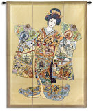Geisha Wall Tapestry by Parker Fulton