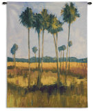 Tall Palms II Wall Tapestry by Mark Pulliam