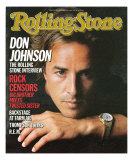 Don Johnson, Rolling Stone no. 460, November 7, 1985 Photographic Print by Herb Ritts