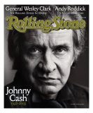 Johnny Cash, Rolling Stone no. 933, October 16, 2003 Photographic Print by Mark Seliger