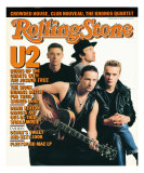 U2, Rolling Stone no. 499, May 7, 1987 Photographic Print by Anton Corbijn