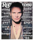 Sting, Rolling Stone no. 657, May 27, 1993 Photographic Print by Andrew Macpherson