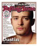 Justin Timberlake, Rolling Stone no. 938, December 25, 2003 - January 8, 2004 Photographic Print by Albert Watson