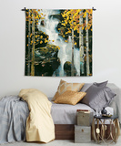 Waterfall Wall Tapestry by Michael O'Toole