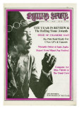 Jimi Hendrix, Rolling Stone no. 26, February 1, 1969 Photographic Print by Baron Wolman