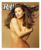 Demi Moore, Rolling Stone no. 701, February 9, 1995 Photographic Print by Matthew Rolston