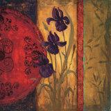 Iris Fusion II Print by Linda Wacaster
