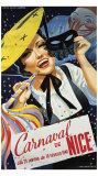 Carnaval de Nice Giclee Print by Emmanuel Gaillard