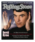 David Byrne, Rolling Stone no. 524, April 21, 1988 Photographic Print by Hiro