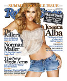 Jessica Alba, Rolling Stone no. 977/978, June 30 - July 14, 2005 Photographic Print by Matthew Rolston